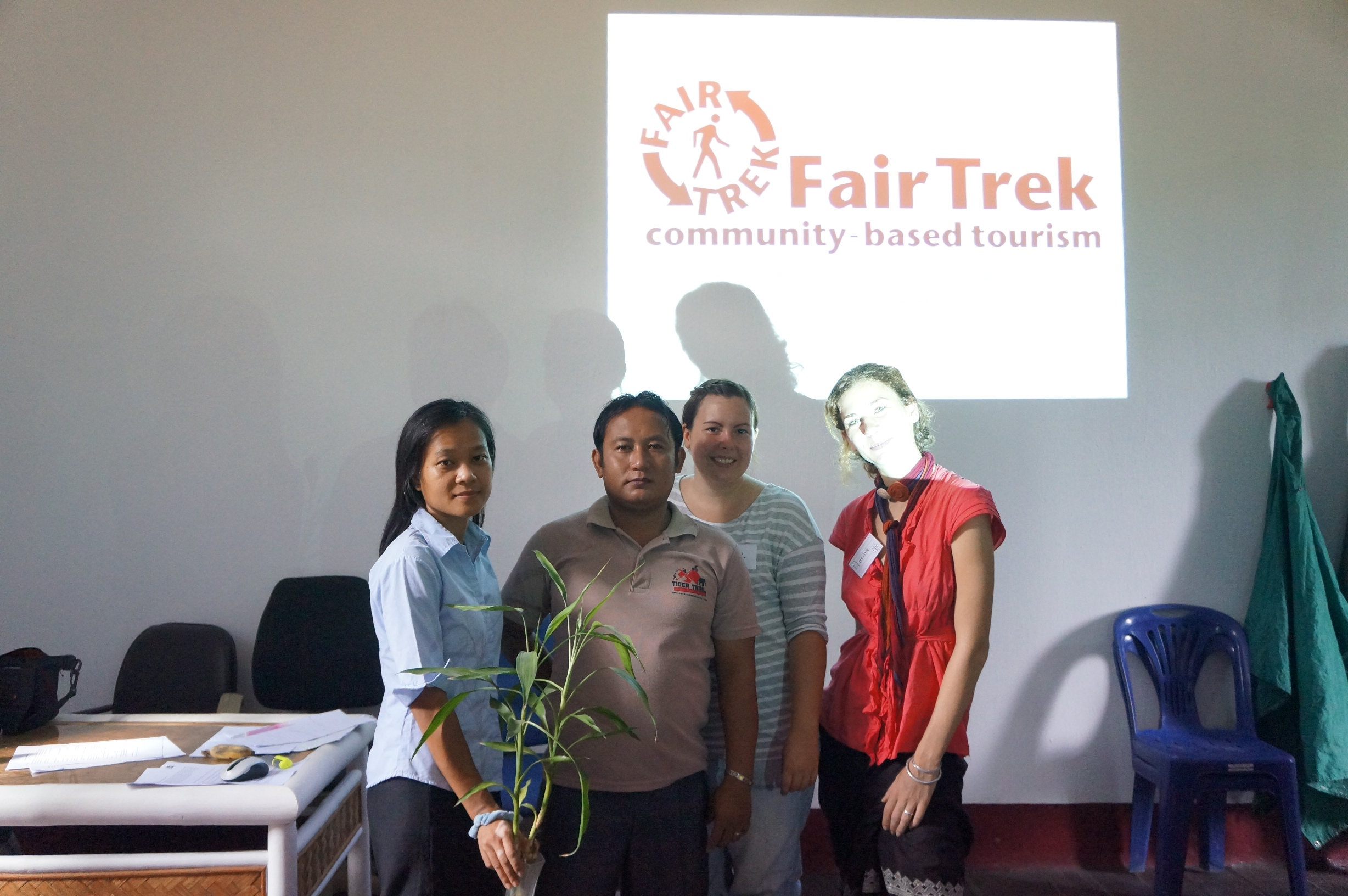 fair trek team, tiger trail, training
