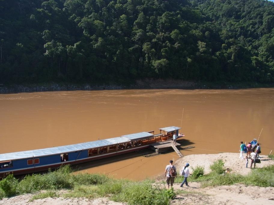 Kamu Lodge Laos Boat