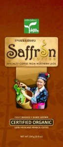 Saffron Coffee in Luang Prabang Laos