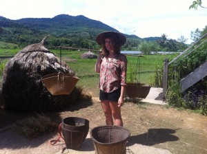 Laos Luang Prabang Living Land Farm Rice is Life