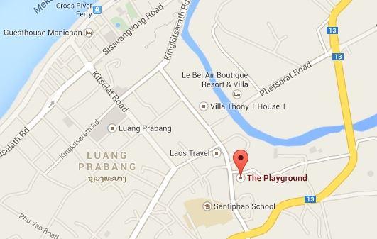 Luang Prabang Playground Map
