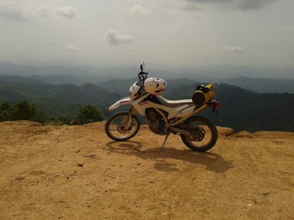 Honda CRF Motorbike Tour in Laos