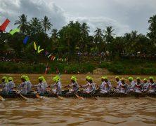 Boat Racing Festival in Luang Prabang