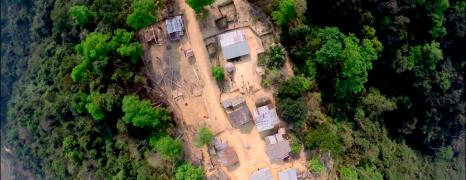 Incredible Drone Video of Village in North Laos