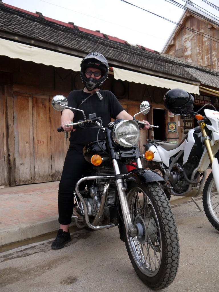 Royal Enfield tour in Laos