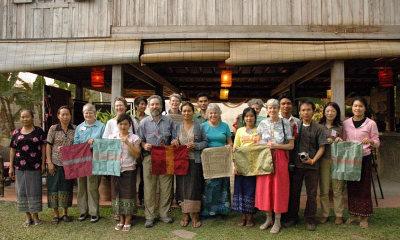 Luang Prabang Weaving Class