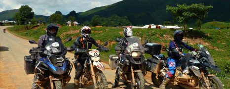 BMW Motorcycle tour through Laos