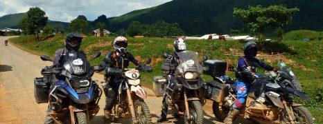 BMW Motorcycle tour through Laos