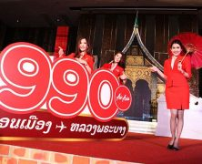 Air Asia Connecting Vientiane in Bangkok
