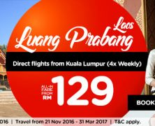 AirAsia: Direct flight from KL to LP!