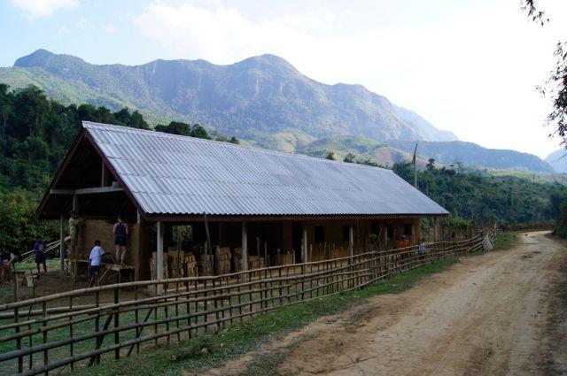 Adobe Clay School Project Laos