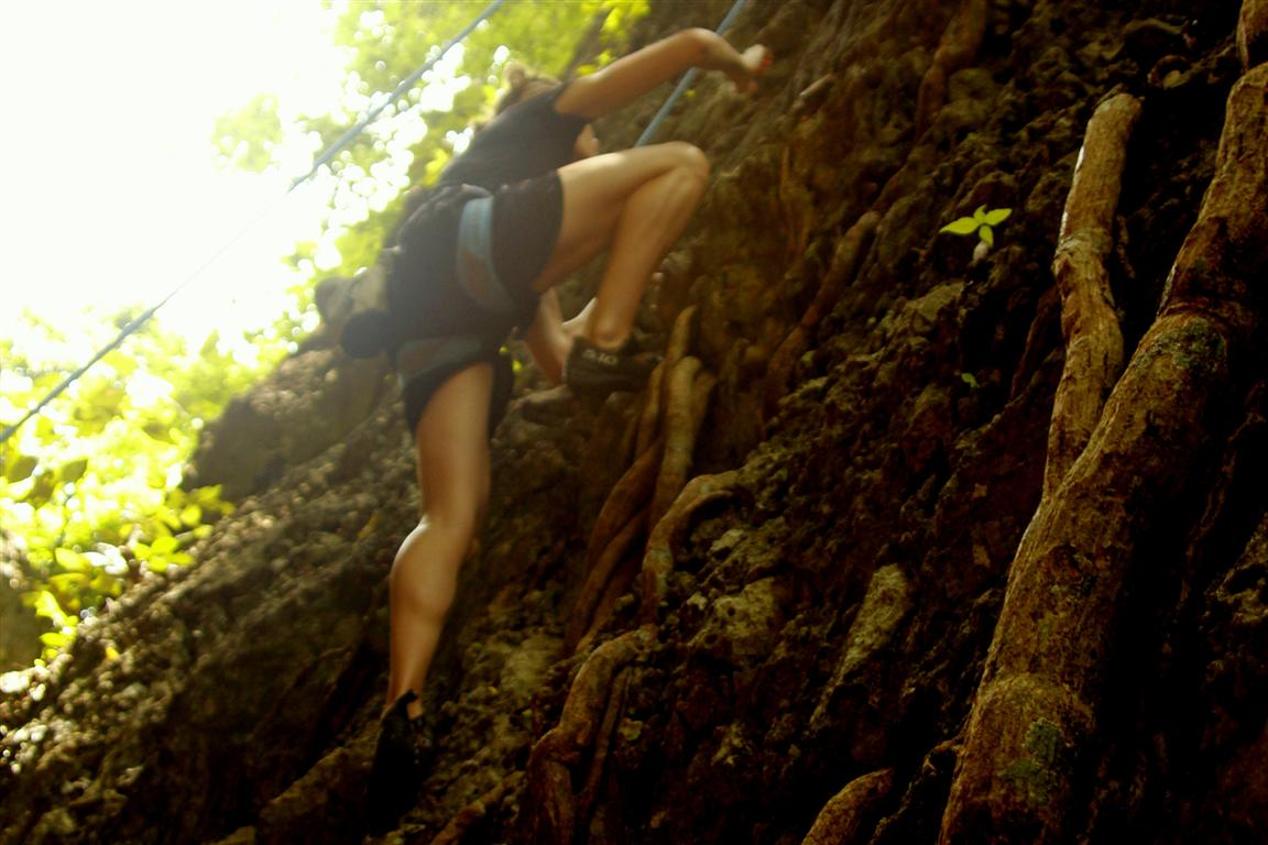 Rock Climbing in Northern Laos