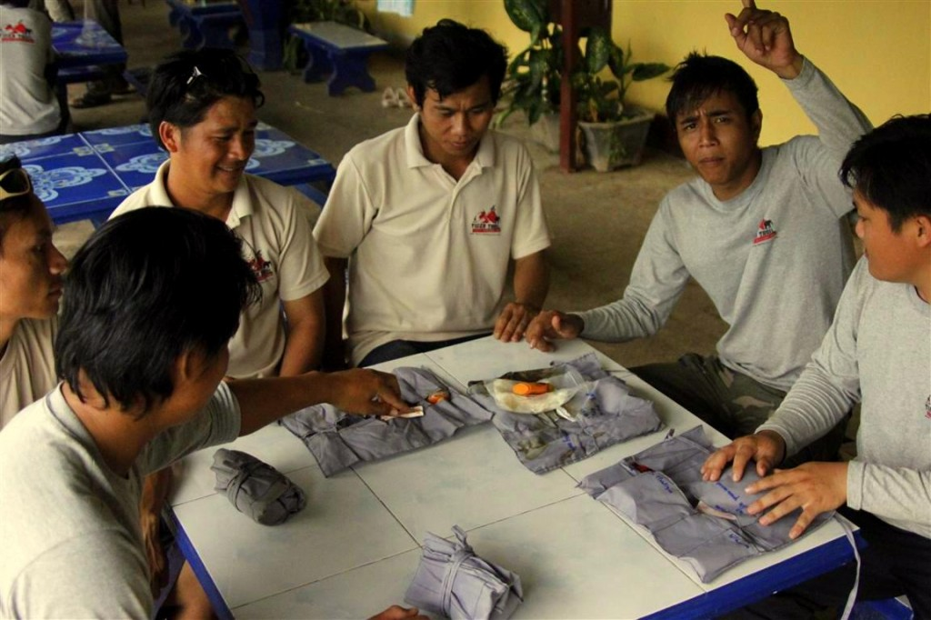 Laos First Aid Guide Training