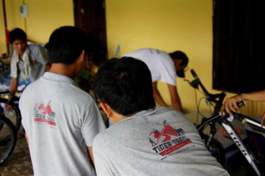 Laos Biking Tours
