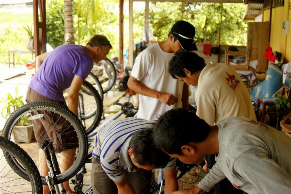Bike Adventure Guide Training