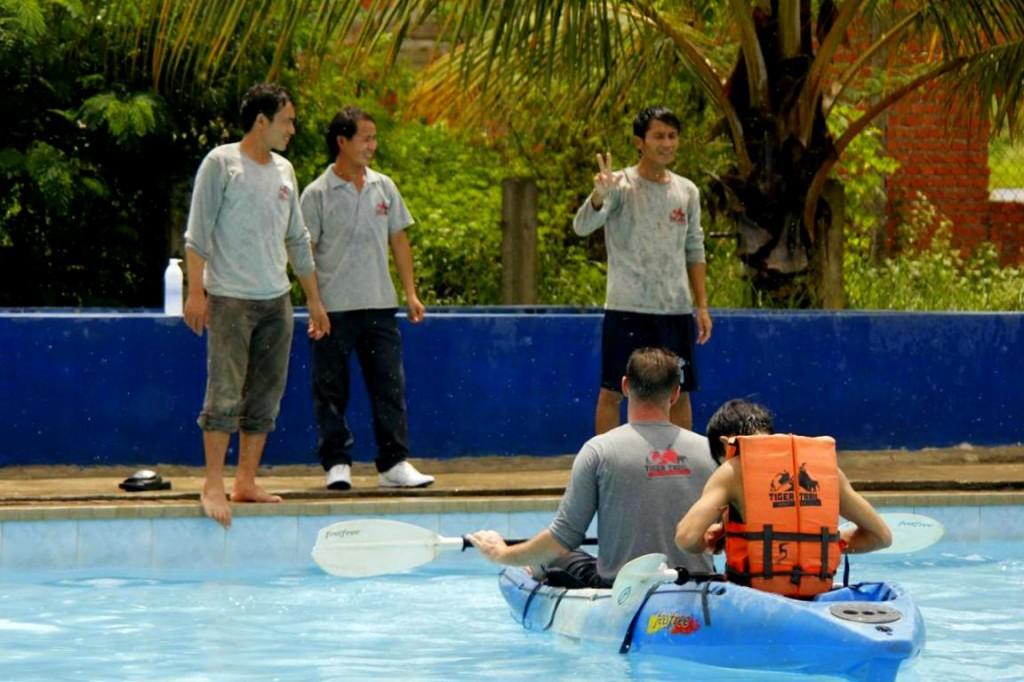 Luang Prabang Kayak Tour Guide Training