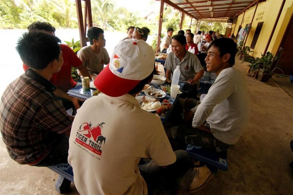 Tiger Trail Luang Prabang, Laos Guide Training