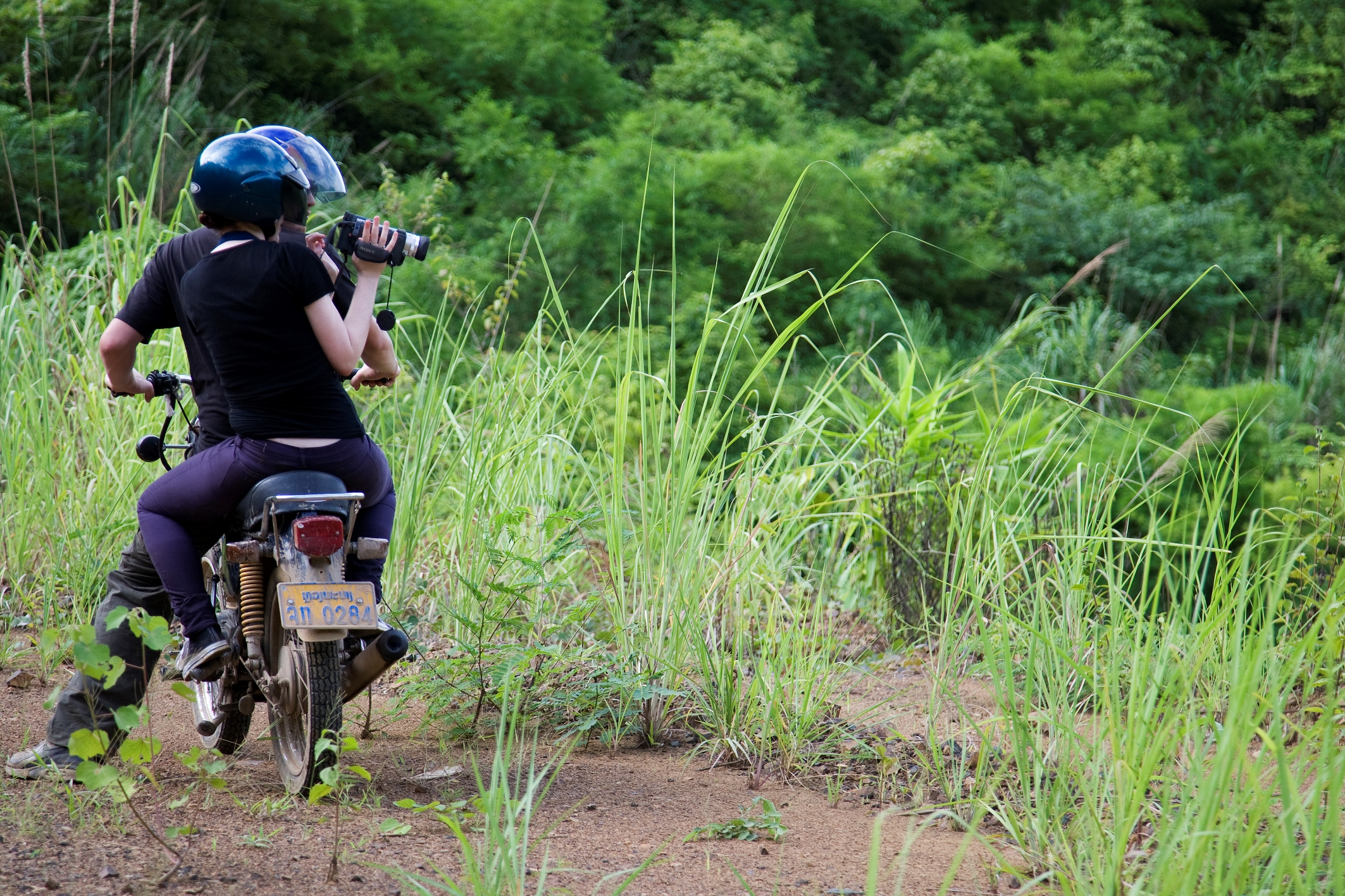 Motorbike travel Laos