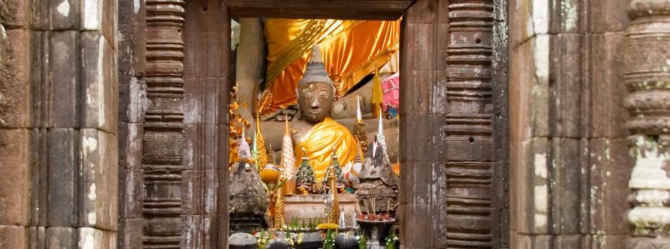 Laos Temple Ruins