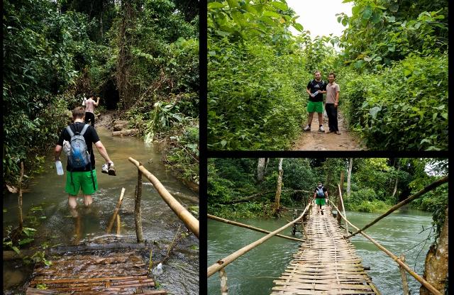 Trek and Kayak tour Luang Prabang