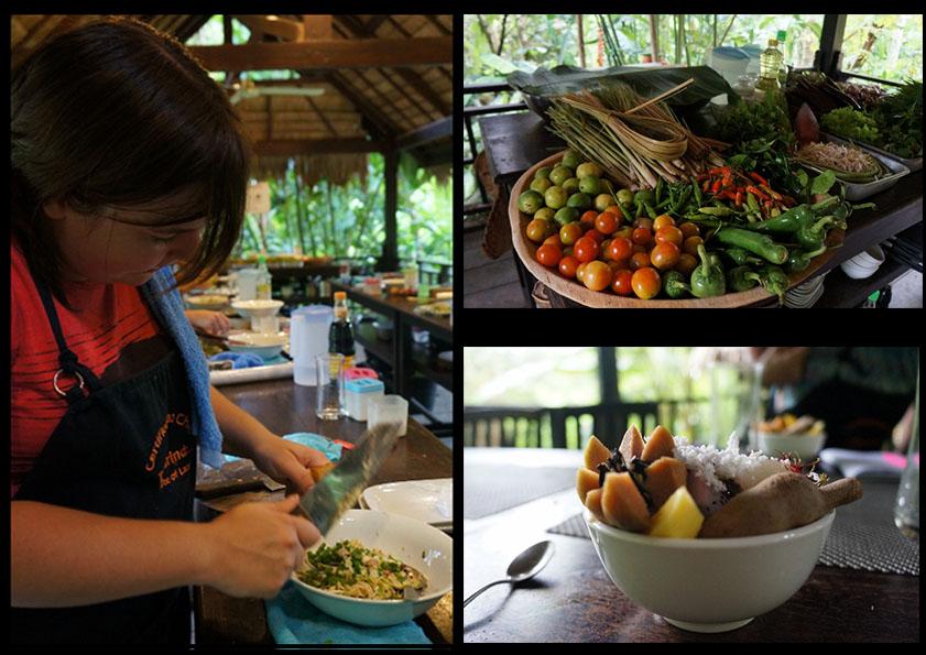 Laos Tamarind cooking class, Luang Prabang