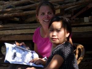 Kajsiap project north Laos, volunteer in Laos