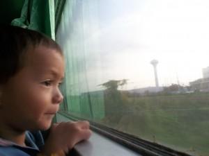 Night Train Bangkok to Laos, Vientiane