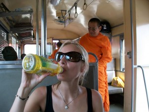 Laos Travel information Night Train Bangkok to Vientiane Laos