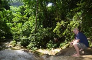 Tad Thong waterfall Luang Prabang travel tip