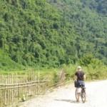 Laos, Vang Vieng, Cycling
