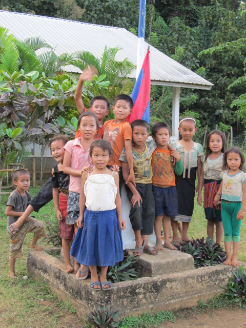 Home stay, Laos project Tiger Trail