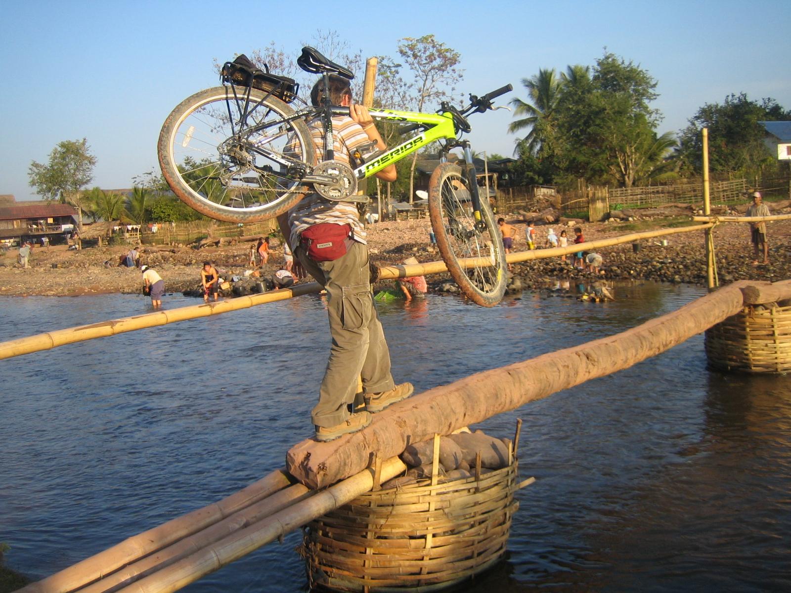 Biking of Laos, Cycling Laos