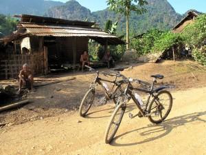 Bike tour in Laos, Vang Vieng