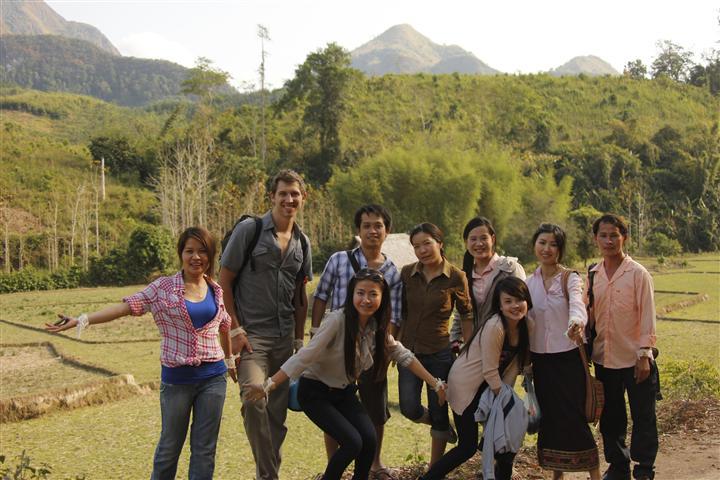 Tiger Trail Office Staff Luang Prabang Laos