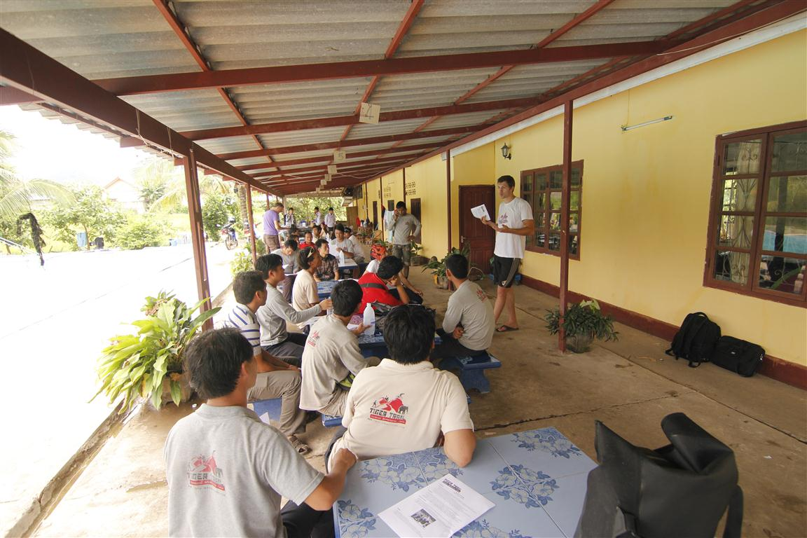 Laos Tiger Trail Guide Training
