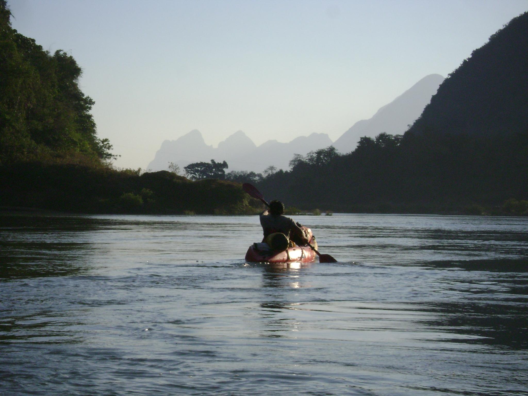 Kayak Laos