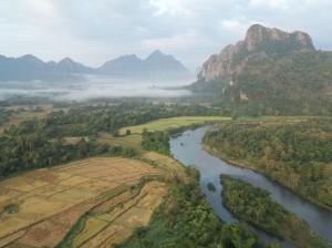 Vang Vieng Ballooning Travel Tip