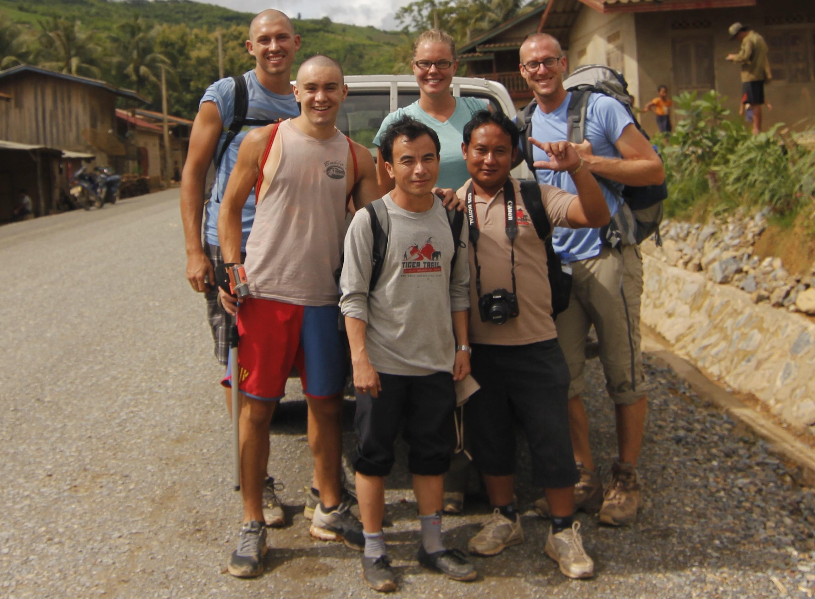 Tiger Trail Trekking Crew Laos