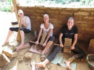 Eco Bungalow Project Luang Prabang - Shaping Bricks