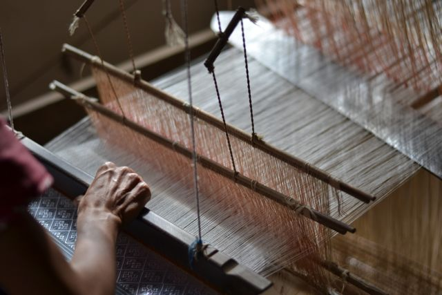 Laos Textile Luang Prabang