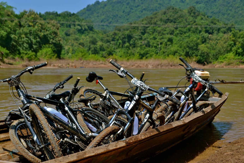 Luang Prabang Laos Bike Tour