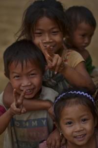 Khmu Village Kids Laos