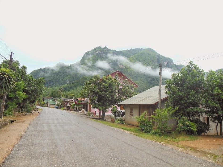 Nong Khiaw town