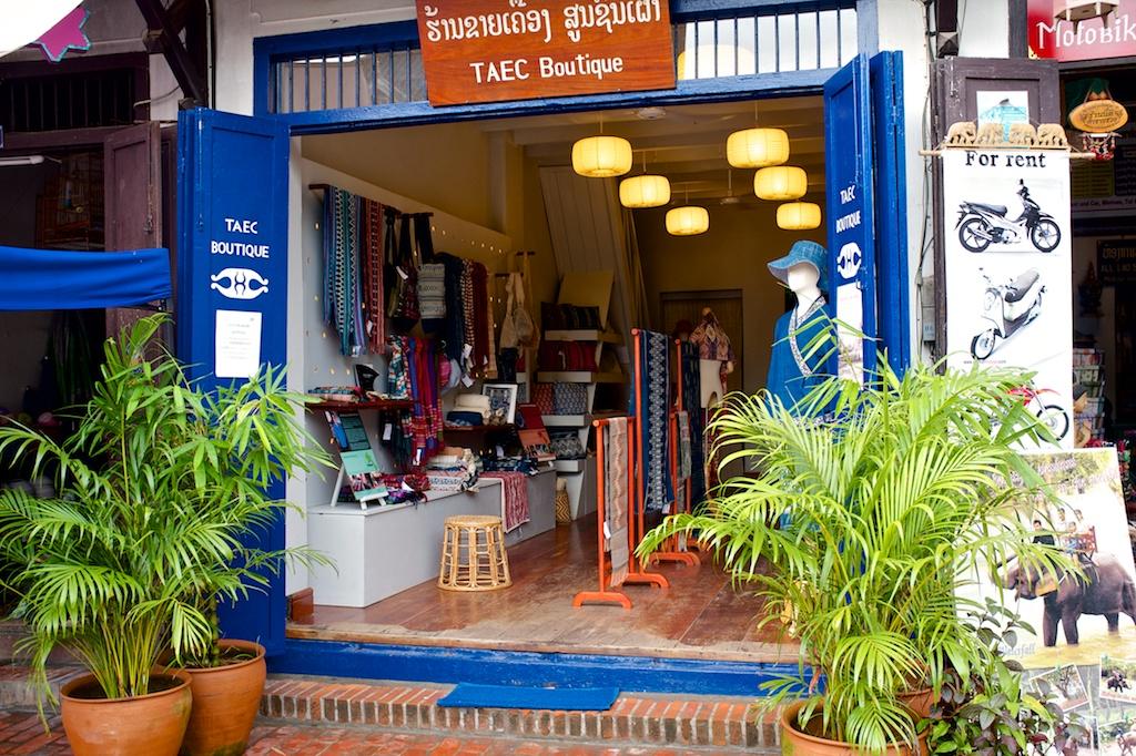 Laos-Luang-Prabang-TAEC-Museum-Boutique-Shop