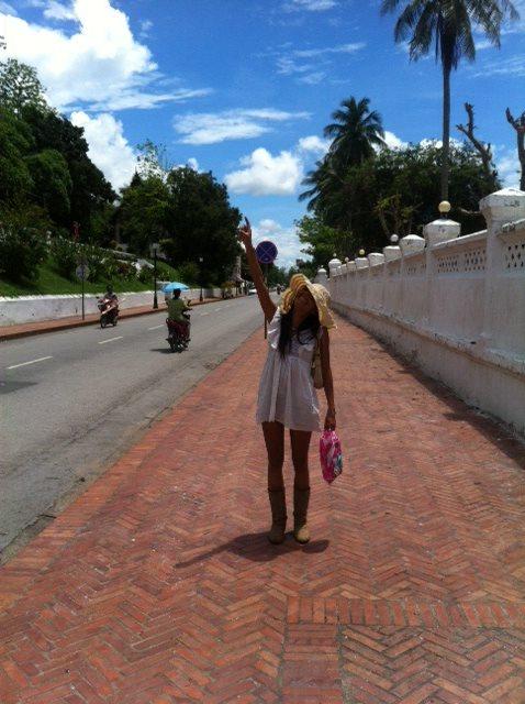 Luang Prabang Laos Blue Sky