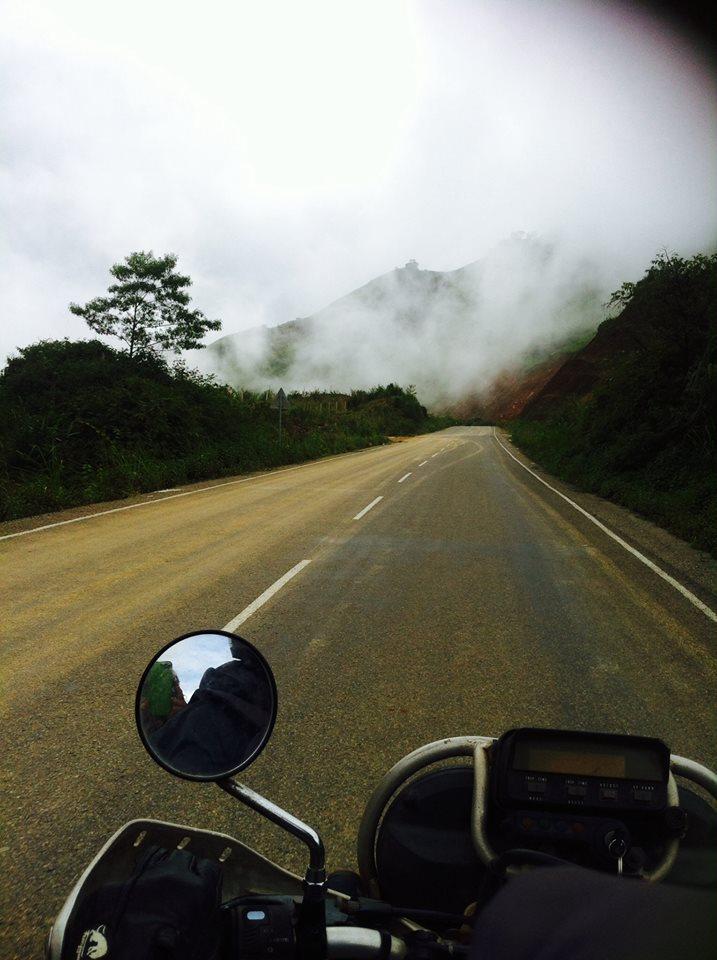 Luang Prabang Laos Motorbike