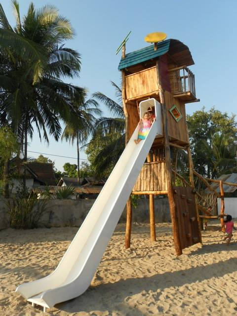 Luang Prabang Travel with Children Playground