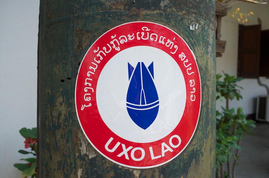 Uxo-museum-luang-prabang-vietnam-war-bomb-shells-laos