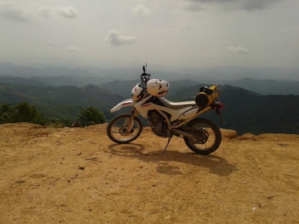 Honda CRF Motorbike Tour in Laos