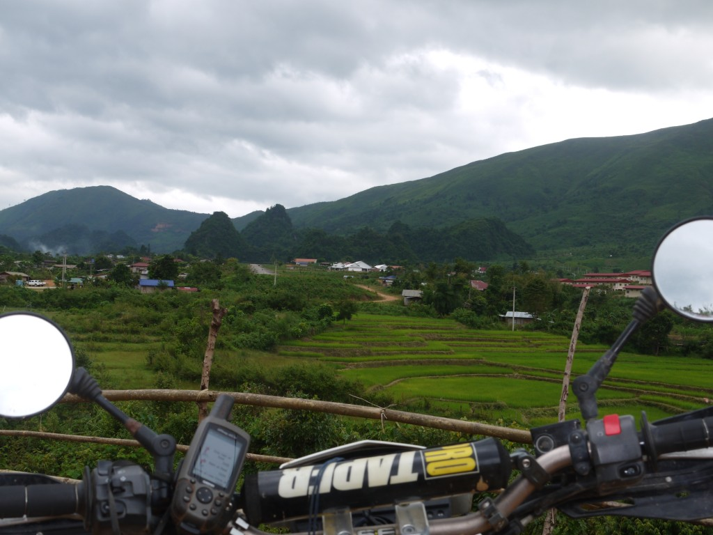 Motorcycle tour through Laos Motolao